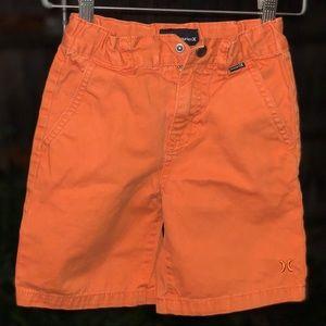Hurley chino board shorts little boys